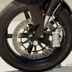disk brake system in bike