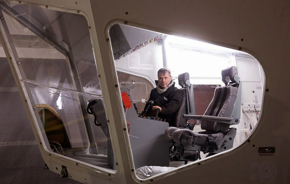 Airlander cockpit
