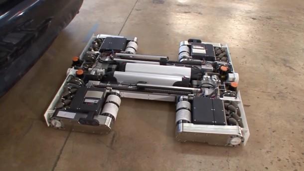 autonomous AVERT robot prototype