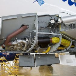 Air conditioning system of superjet plane