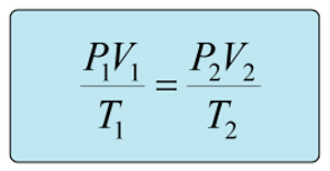 universal gas law formula