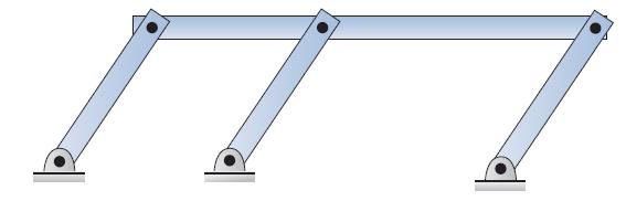 Mechanism that violates the Gruebler's equation