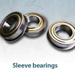 Sleeve bearings are also known as journal bearings