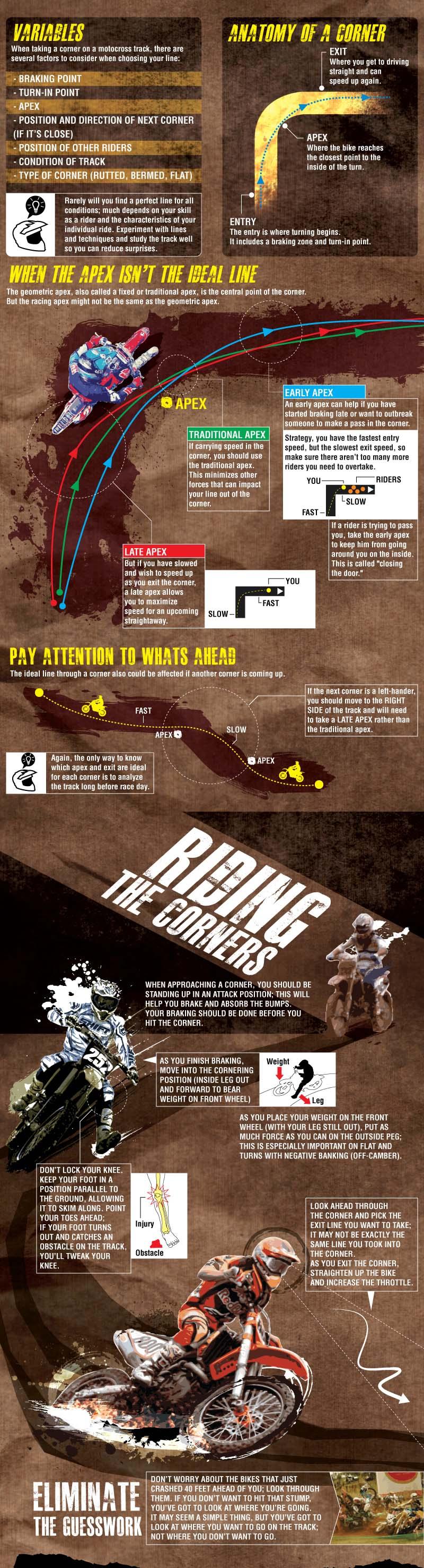 Motocross bike racing tips