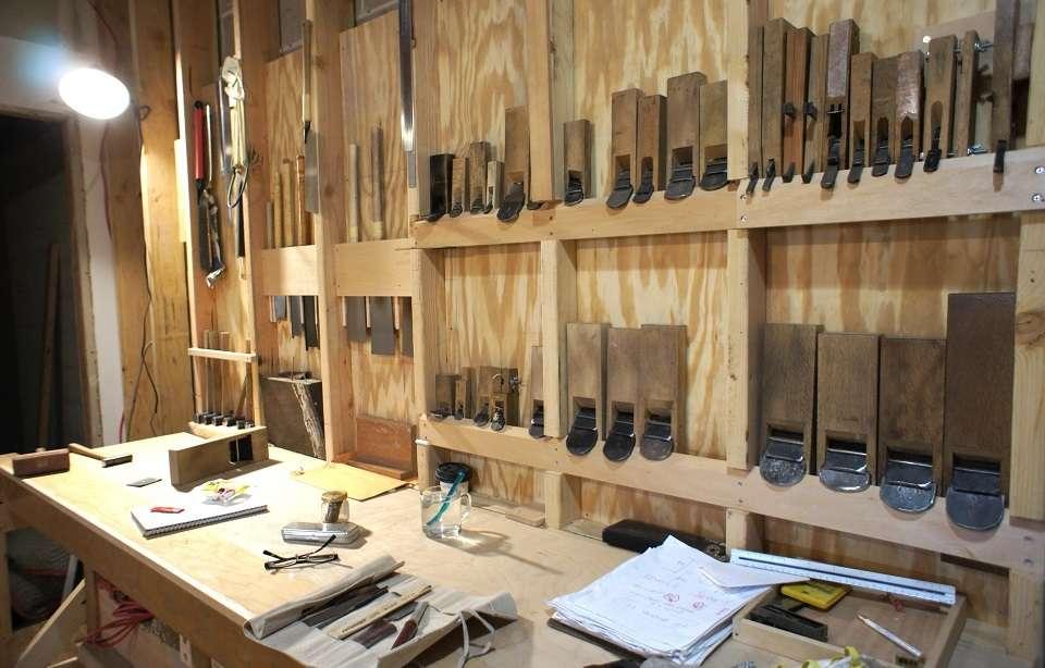 Carpentry shop tools