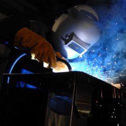 Arc welding safety precautions
