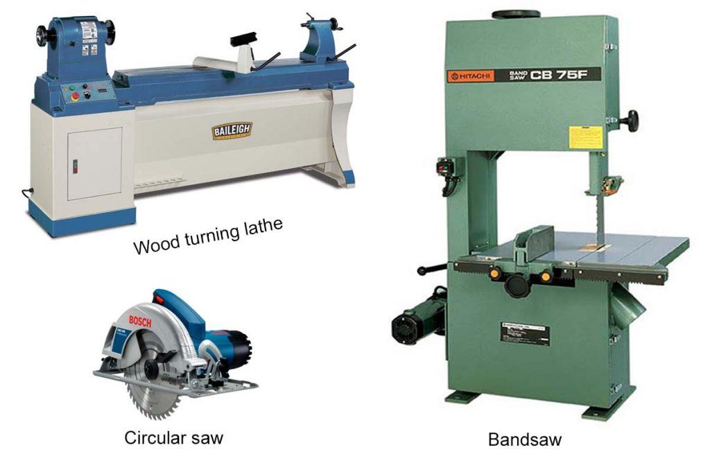 Various Carpentry machines