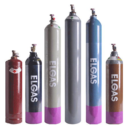Shielding Gas Cylinders